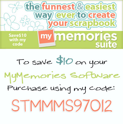MyMemoriesCodefor10savings