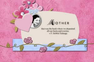 PrincessLala CardChallenge May2 mothersday card2 mms
