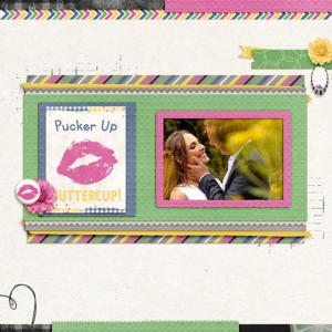 Pucker up, Buttercup!!